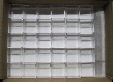 100 Stück Micromount Dosen WEISS für Mineralien / Micromountdosen / Sammlung