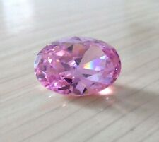 Unheated 8x10mm AAA Pale Pink Sapphire Oval Faceted Cut 4.26ct VVS Loose Gems