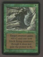 mtg ALPHA WEB NM or better VHTF Magic Original Rare!
