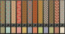 12 Ordnerrücken Pattern Muster Ordner Ordneraufkleber Aufkleber Deko 607 / 608