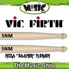 Vic Firth Signature Series SNM Nicko McBrain Wood Tip Drumsticks - Sticks