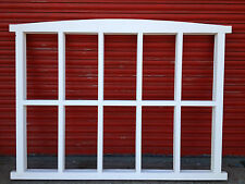 Georgian style glazing bars 10 panes wooden timber windows - made to measure!