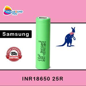 Samsung 25R 2500mAh INR Lithium li-ion High Drain Rechargeable Battery Authentic