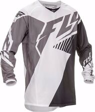 """FLY KINETIC """"VECTOR"""" JERSEY - BLACK/WHITE/GREY - SMALL"""