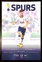 Tottenham Hotspur ( Spurs ) v Southampton Programme 5th December 2018