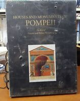 HOUSES AND MONUMENTS POMPEII THE WORK OF FAUSTO AND FELICE NICOLINI