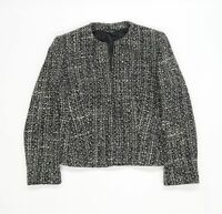 NEXT Womens Black Polka Dot  Jacket  Size 14