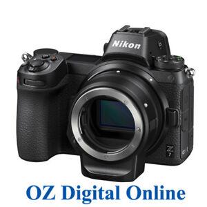 New Nikon Z7 Body Black with FTZ adapter Mirrorless Digital Camera 1 YrAuWty