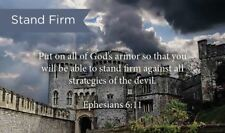 Pass Along Scripture Cards, Stand Firm, Ephesians 6:11, Pack 25