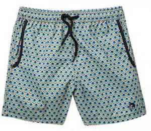 New Jr. Swim Boys' Size 14/16 Swim Trunks The Junior Trunk TILES YELLOW