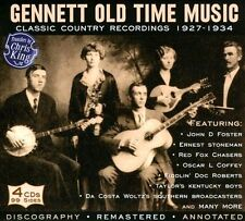 Gennett Old Time Music: Classic Country Recordings 1927-1934 [Box] by Various...