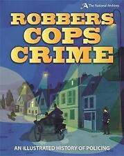 Ladrones, policías, delincuencia: una historia ilustrada de control policial por Roy aplicaciones..