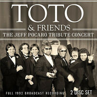 Toto & Friends : The Jeff Pocaro Tribute Concert CD 2 discs (2017) ***NEW***