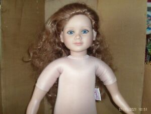 "2003 vinyl cloth 24"" My Twinn nude doll"