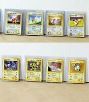 VINTAGE Pokemon TCG - Japanese Gym Set (8) LT Surge's Electabuzz + Eevee + MORE