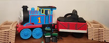 Peg-Perego Thomas the Tank Engine Ride On-Train w/ Tracks 2 Batteries & Charger