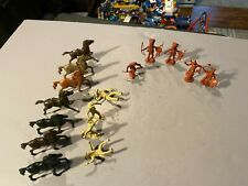 Vintage Lot of 16 Unknown Manufacturer Cowboys And Indians