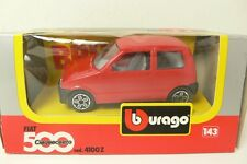 FIAT 500 CINQUECENTO RED BURAGO 4100Z 1:43 FROM COLLECTION