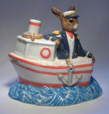 More details for royal doulton bunnykins ship ahoy   db279  ltd ed   539/2000     mib
