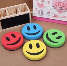 Smile Magnetic Board Rubber Blackboard Whiteboard Cleaner Dry Marker Pen Eraser