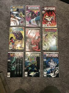 Marvel Comics Wolverine Lot Of 51 Copies Assorted Issues