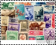 Italian Colonies : 25 Different Stamps Collection