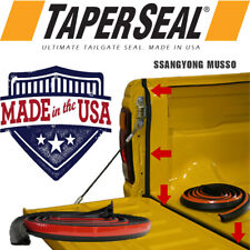 TAILGATE SEAL KIT FOR SSANGYONG MUSSO RUBBER UTE DUST TAIL GATE MADE IN USA