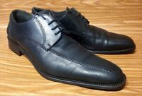 BETTACCINI MADE IN ITALY BLACK LEATHER OXFORDS LACE UP MENS DRESS SHOES 11.5
