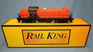 """Rail King By MTH """"New Haven"""" Alco RS-1 Diesel Engine, NEW IN BOX"""