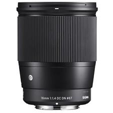 NEW Sigma 16mm f/1.4 DC DN Contemporary Lens Sony E Mount