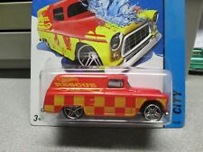 Hot Wheels 55 Chevy Panel Color Shifters Red 2013