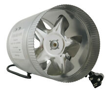 "TerraBloom 6"" Inch Duct Fan, 240 CFM, Inline Booster Fan, Quiet with 6ft Cord"