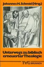 Buch: Johannes H. Schmid (Hrsg.): Unterwegs zu biblisch erneuerter Theologie