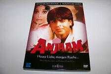 DVD - ANJAAM - SHAHRUKH KHAN - MADHURI DIXIT - BONUS DVD TEMPTATION LIVE 2004