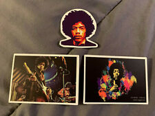 "Lot of 3 Jimi Hendrix 2"" to 3"" Band Logo Stickers Fast! Free! Little Wing"