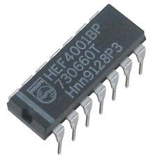 10 St HEF 4001 BP HEF4001BP Philips 4x NOR je 2 Eingänge Neu aus Lageraltbestand