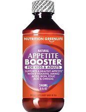 Appetite Booster for Kids & Adults + B Vitamins + L-Lysine + Omega 3,6,9