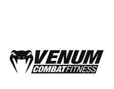 """(2)PCS """"VENUM COMBAT UFC MMA"""" Size 2""""3/4x9""""1/4 decal sticker home bike car Truck"""
