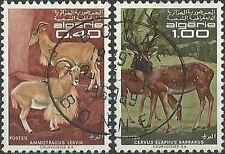 Timbres Animaux Algérie 477/8 o lot 18458