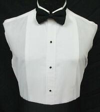 Men's White Pique Wing Tip Collar Tuxedo Shirt Tailcoat Formal Wedding Mason