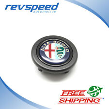 Alfa Romeo Logo Emblem Steering Wheel Horn Button for MOMO OMP Sparco