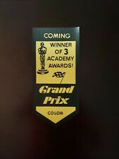 Grand Prix 1966 Movie Coming Attractions Usher Badge