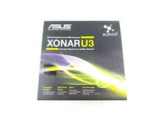 ASUS XONAR U3 Mobile Headphone Amplifier USB Soundcard