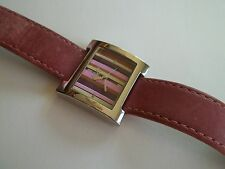 "J JILL watch,ladies,good working pre-own cnd,case 1 1/8""wide,genuine leather"