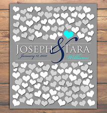 Engagement BRIDAL GIFT POSTER 122 Guest Sign Unique Wedding Guestbook 20x24_01