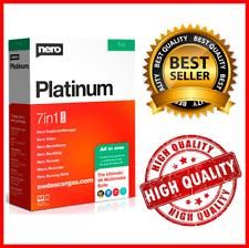 Nero Platinum 2020✔️LifeTime✔️Multi-language✔️Windows✔️Fast Delivery✔️