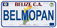 Use this novelty lice LP-2153 Belize bHBAYvM Flag Vanity Metal Novelty License oYuhq Plate Tag Sign licence lisence license plate metal car sign yutio67 ghj90 6 x 12 standard automotive aluminum metal novelty license plate with 4 holes for easy mounting