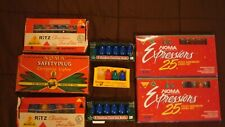HUGE Lot of Vintage CHRISTMAS LIGHTS - Great for display - Advertising W/ Boxes