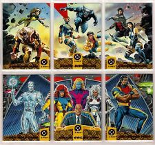 1994 WAL-MART Ultra X-Men TEAM TRYPTICH Chase Insert Card Set