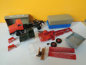 1:87 HO DDR diverse Bastelteile IFA H6 Brekina und Kleinserie
